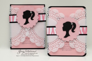 barbie doily invitations (1)