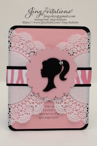 barbie doily invitations (3)