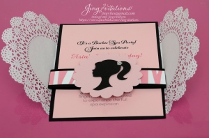 barbie doily invitations (7)