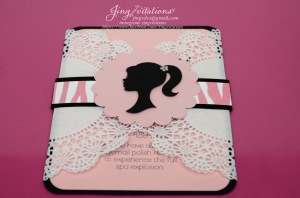barbie doily invitations (9)
