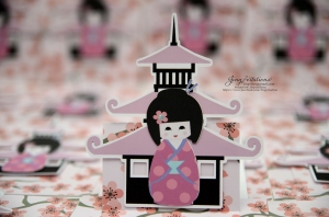 cherry blossom invitations kokeshi japanese doll (14)