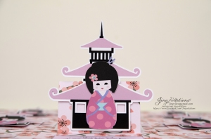 cherry blossom invitations kokeshi japanese doll (20)