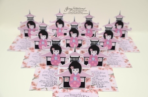 cherry blossom invitations kokeshi japanese doll (23)