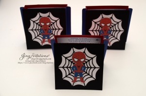 Handmade Spiderman invitations (11)