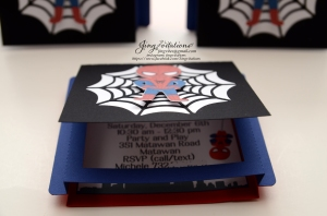 Handmade Spiderman invitations (12)