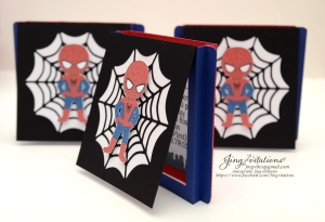 Handmade Spiderman invitations (13)