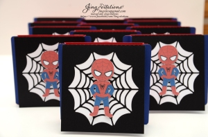 Handmade Spiderman invitations (4)