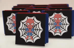 Handmade Spiderman invitations (5)