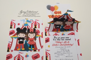 mickey mouse and minnie mouse circus invitations (2)